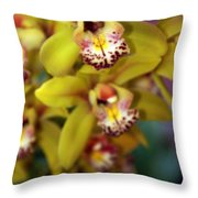 Orchid 11 Throw Pillow