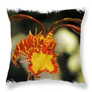 Orchid 16af Throw Pillow