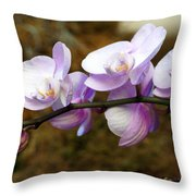 Orchid 18 Throw Pillow