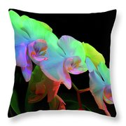 Orchid #2 Throw Pillow