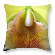 Orchid 21 Throw Pillow