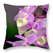 Orchid 25 Throw Pillow