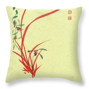 Orchid - 28 Throw Pillow