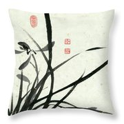 Orchid - 29 Throw Pillow
