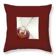 Orchid-3 Throw Pillow