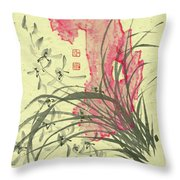 Orchid - 30 Throw Pillow
