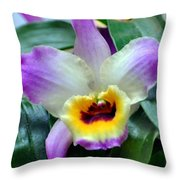 Orchid 34 Throw Pillow