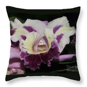 Orchid 87 Throw Pillow