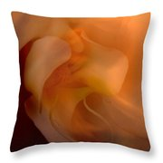Orchid Detail Throw Pillow