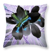 Orchid Inverted Throw Pillow