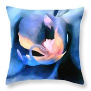 Orchid Lullaby Throw Pillow