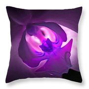 Orchid Of Fantasy Throw Pillow