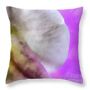 Orchid Of Inspiration Throw Pillow