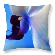 Orchid Serenity Throw Pillow