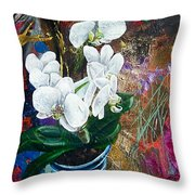 Orchid You Throw Pillow