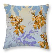 Orchids 3 Throw Pillow