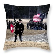 Orders To Advance Throw Pillow