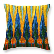 Ordinary West Of Sun Throw Pillow