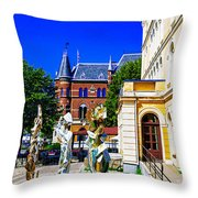 Orebron Theater Throw Pillow