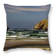 Oregon Coast 14 Throw Pillow