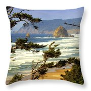 Oregon Coast 15 Throw Pillow