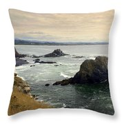 Oregon Coast 17 Throw Pillow