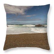 Oregon Coast- 5 Throw Pillow