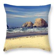 Oregon Coast 7 Throw Pillow