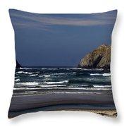 Oregon Coast 8 Throw Pillow