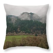Oregon Countryside  Throw Pillow
