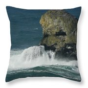 Oregon Rocks Throw Pillow