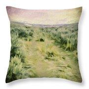Oregon Trail 2 Throw Pillow