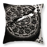 Oreo Cookie Throw Pillow