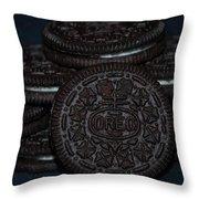 Oreo Cookies Throw Pillow