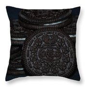 Oreo Cookies Throw Pillow
