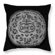 Oreo In Matte Finish Throw Pillow