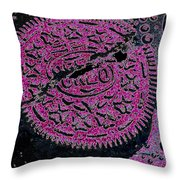 Oreo In Pink Throw Pillow