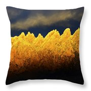 Organ Mountains Land Of Enchantment 1 Throw Pillow