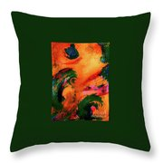 Organic Clash Throw Pillow