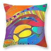 Organic Life Scan Or Cellular Light - Original, Square Throw Pillow