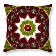 Organic Popart Throw Pillow