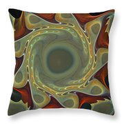 Organic Round Throw Pillow
