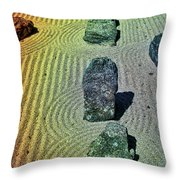 Organized Tranquility  Throw Pillow