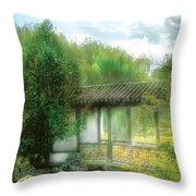 Orient - Bridge - Chinese Bridge  Throw Pillow