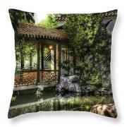 Orient - Bridge - The Bridge Throw Pillow