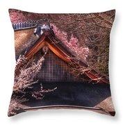 Orient - Shofuso House Throw Pillow
