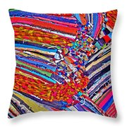 Oriental Motif. Texture. Throw Pillow