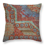Oriental Rug Detail. Throw Pillow
