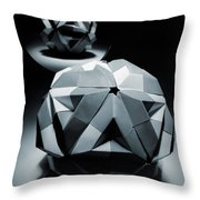 Origami Paper Sphere Throw Pillow