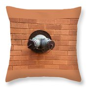 Original Female Pipe Throw Pillow